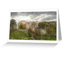 Wolfsberg Castle Greeting Card