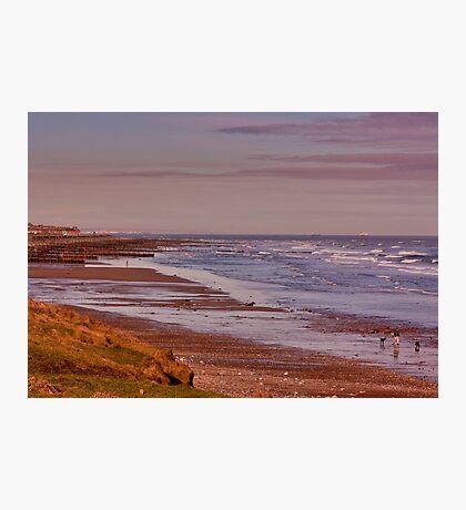 Redcar Beach Photographic Print