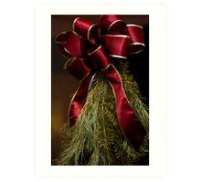 Christmas Greens Art Print