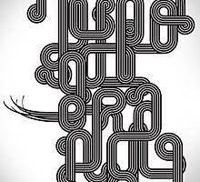 Typographic Graphic by HeatWave