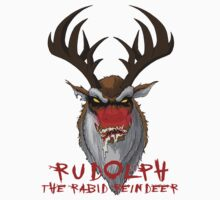 Rudolph the Rabid Reindeer by monsterfink