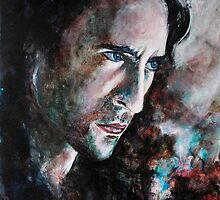 Intense (Alex O'Loughlin), featured in Painters Universe and The Group by Françoise  Dugourd-Caput