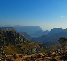 the Blyde River Canyon by Martina  Stoecker