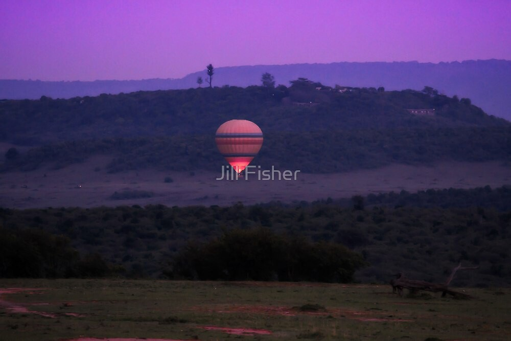 Lighting up the Dawn by Jill Fisher