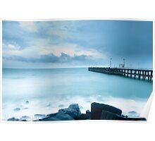 pondicherry beach Poster