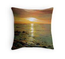 Atlantic Sunset Throw Pillow