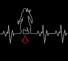 Heartbeat Assassins Creed by K-Star-1337
