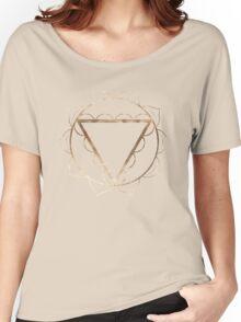 Solar Plexus Chakra Women's Relaxed Fit T-Shirt