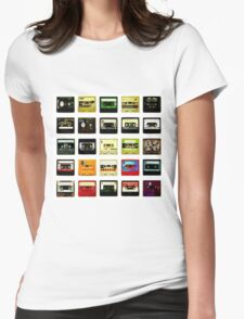 vintage music Womens Fitted T-Shirt