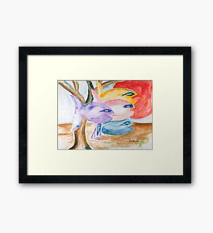 With a purpose Framed Print