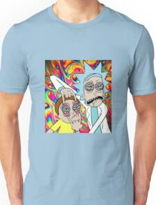 Rick and Morty Eyes Open Trip Unisex T-Shirt