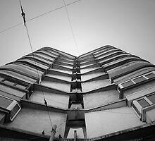 Block of flats by wildrain
