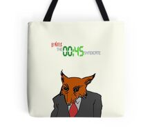 """The 45 Syndicate - """"Fox-Eyed Man"""" Tote Bag"""