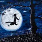 Moonlit Swing by Hannah Aradia