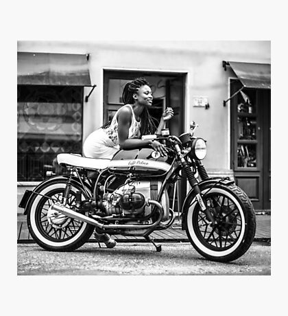 motorcycle Photographic Print