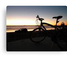 Ensenada bay area sunset Canvas Print