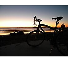 Ensenada bay area sunset Photographic Print