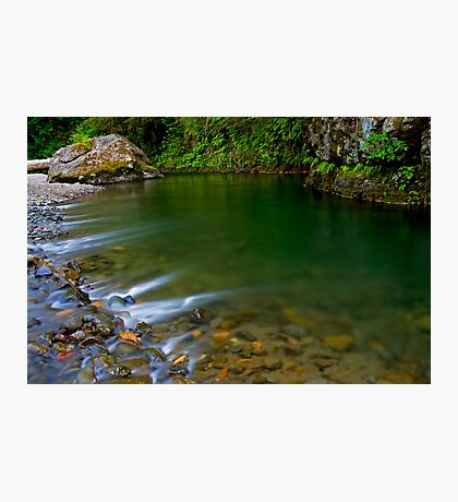 Emerald Waterscape Photographic Print