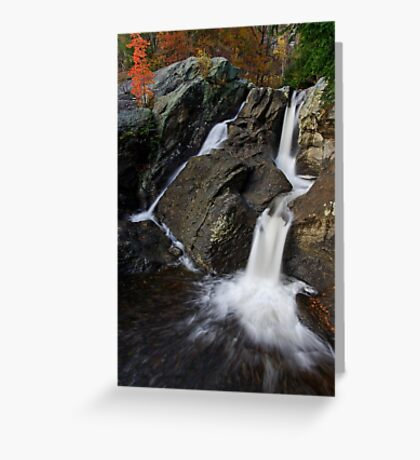 An Overview - Bolton Potholes, Joiner Brook Greeting Card