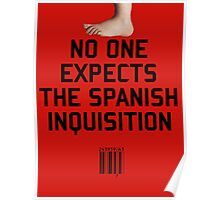 No One Expects the Spanish Inquisition Poster