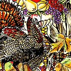 Fall Themed Turkey Design by LjMaxx