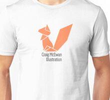 Origami Squirrel Logo Unisex T-Shirt