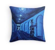 Oil Painting  - The Doors That Open Us. 2011 Throw Pillow