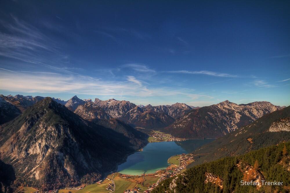 The Achensee below by Stefan Trenker