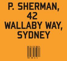 P Sherman by upsidedownRETRO