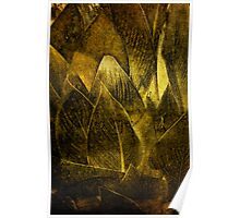 Canna In Gold Poster