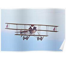 1911 - Avro Triplane (replica) at  Shuttleworth Poster