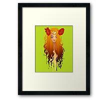 Ozma from Oz Framed Print