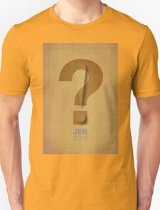 jeb 2016 Unisex T-Shirt