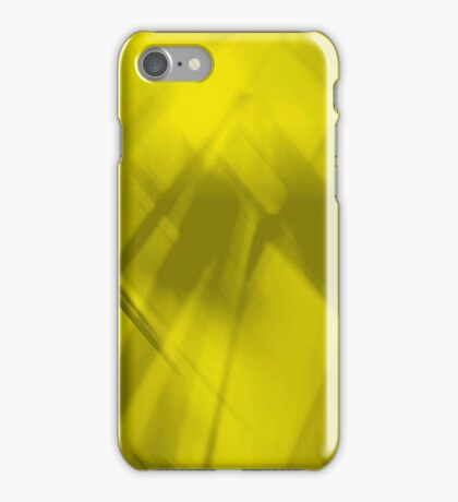 Abstract Art in Gold iPhone Case/Skin