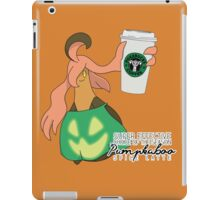Pumpkaboo Spice Latte iPad Case/Skin