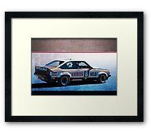 Allan Grice Torana A9X Framed Print