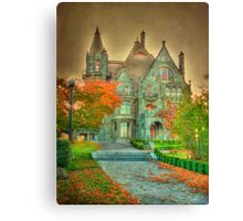 Wicked Fairy Castle Canvas Print