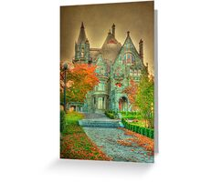 Wicked Fairy Castle Greeting Card