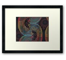 Interrelations Framed Print