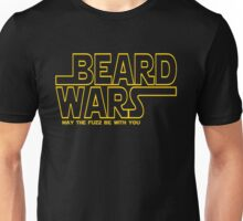 Beard Wars May The Fuzz Be With You Men's Funny Beard Sci-fi T-Shirt Unisex T-Shirt