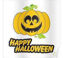 Jack O' Lantern Happy Halloween Poster