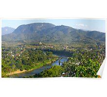 Luang Prabang Nam Khan River Poster