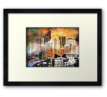 Two Birds by 6th Street Framed Print