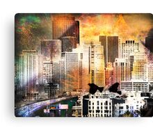 Two Birds by 6th Street Canvas Print