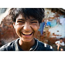 Smiling boy Photographic Print
