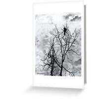 Solitary Sentinel Greeting Card