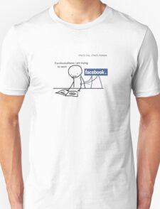 Facebook Unisex T-Shirt