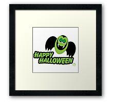Vampire Count Happy Halloween Framed Print