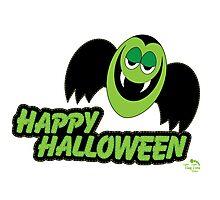 Vampire Count Happy Halloween Photographic Print
