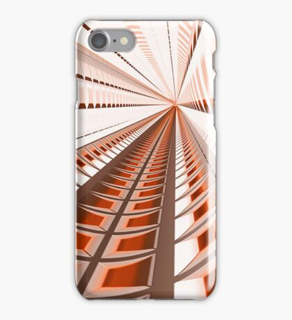 Orange Matrix iPhone Case/Skin